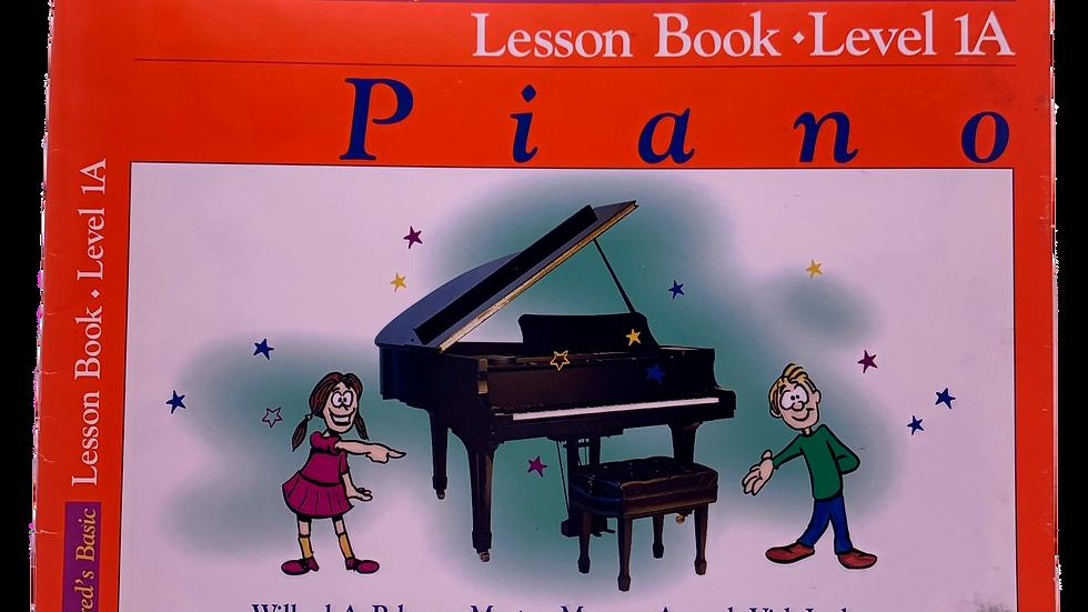 Alfred Book 1A Lesson Book