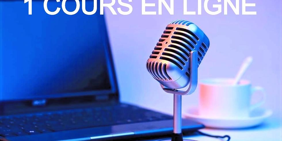 coaching vocal en ligne 1h