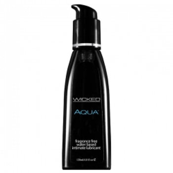 Wicked Aqua Waterbased Lubricant - 120ml, 250ml