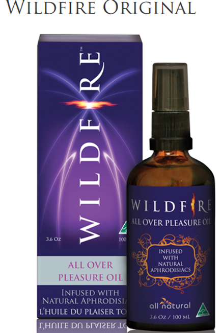 "Wildfire ""Original"" Pleasure Oil 50ml or 100ml"