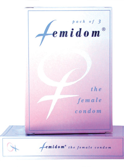 Femidom Female Condom (3 Pack)