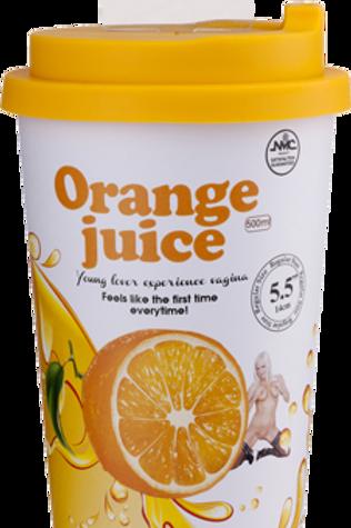 Orange Juice Male Masturbator sleeve