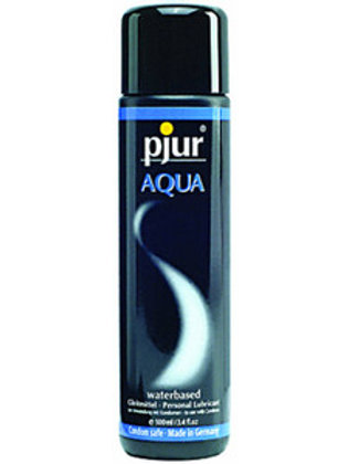Pjur Aqua - Water based lubricant 30ml, 100ml, 250ml, 500ml
