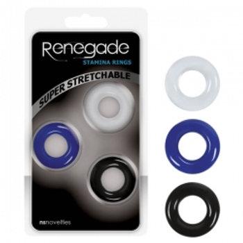 Renegade - Stamina rings 3 pack