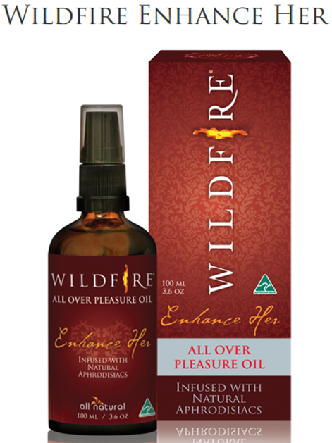 "Wildfire ""Enhance Her"" Pleasure oil 50ml or 100ml"
