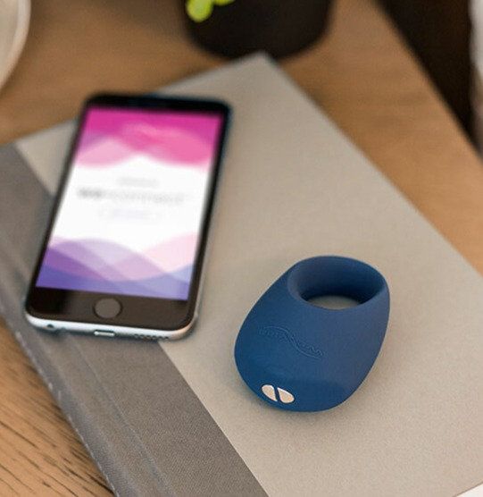 The We-Vibe Pivot is a silicone cock ring with app for any iPhone or Android device . Designed for male/female couples play due to the clitoral massager on the tip.