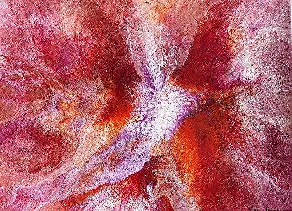 Center of the Flower (16x20)