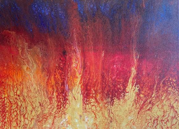 Autumn Conflagration (16x20)