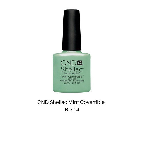 CND Shellac Mint Convertible Color