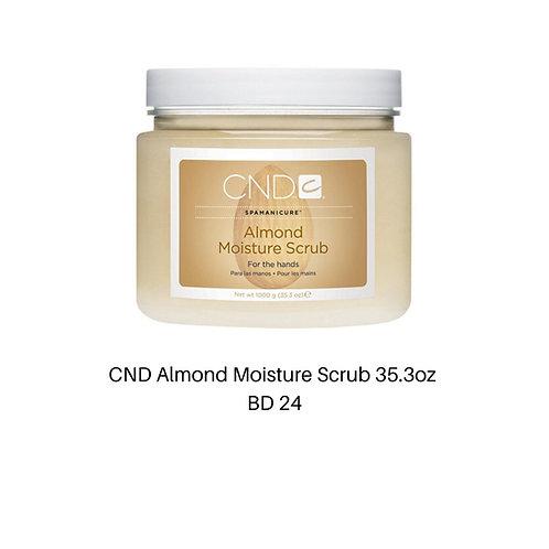 CND Almond Moisture Scrub 35.3 OZ