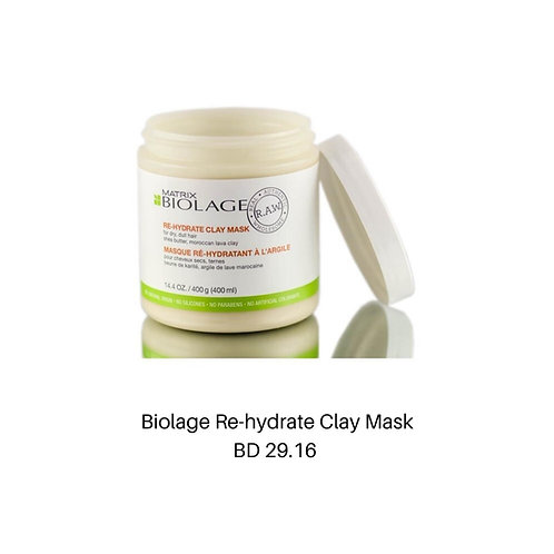 Biolage Re-hydrate Clay Mask