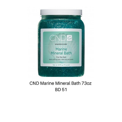 CND Marine Mineral Bath 73oz