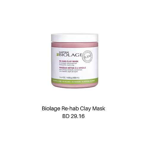 Biolage Re-hab Clay Mask