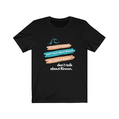 1st Rule About Rincon Women's Jersey Short Sleeve Tee