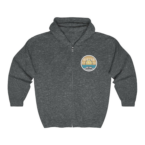 Rincon & Me Heavy Blend™ Full Zip Hooded Sweatshirt