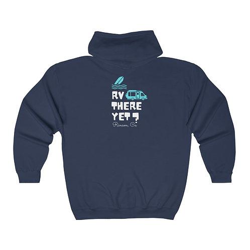 Rincon RV There Unisex Heavy Blend™ Full Zip Hooded Sweatshirt (printed on back)