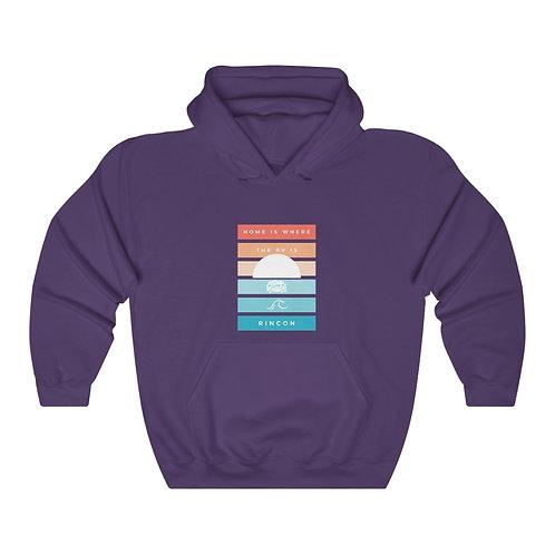 Rincon Sunset Women's Heavy Blend™ Hooded Sweatshirt