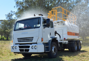 Iveco ACCO 2350 6x4 Water Truck with 13,000 Litre Stainless Steel Tank