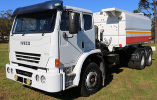 Iveco ACCO 2350G 6x4 Water Truck with 13,000 Litre Stainless Steel Tank