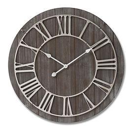 Wooden and nickel clock.jpg