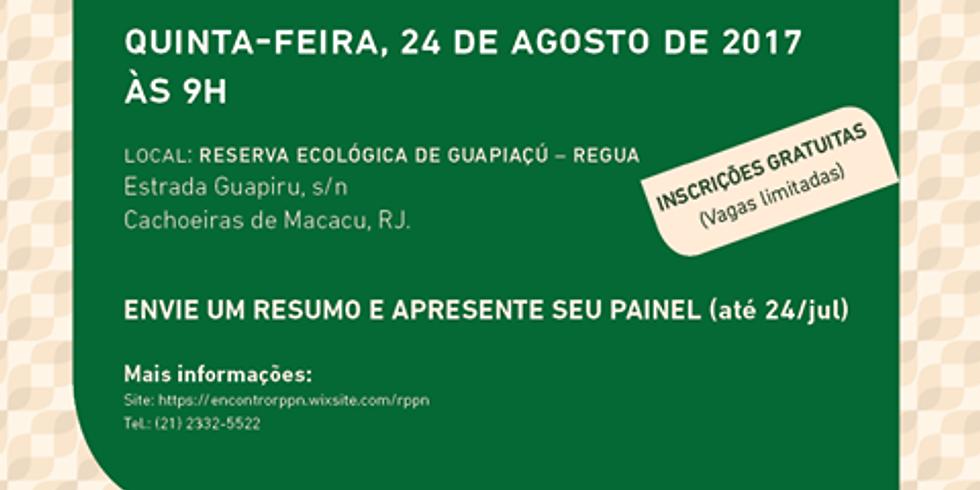 1º Encontro Científico de RPPNs do Estado do Rio de Janeiro
