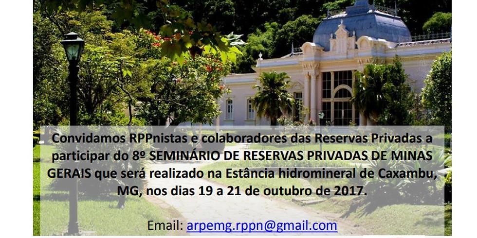 8º. Seminário de Reservas Privadas de Minas Gerais