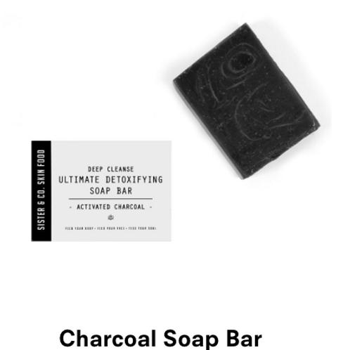 Sister & co Charcoal Soap Bar
