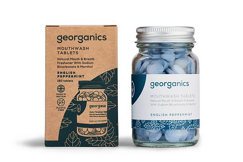 Georganics English Peppermint Mouthwash