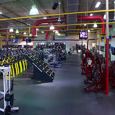 Steel Fitness and Tan