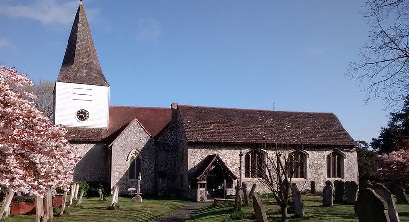 St Nicolas Church Bookham Spring 2014 (4