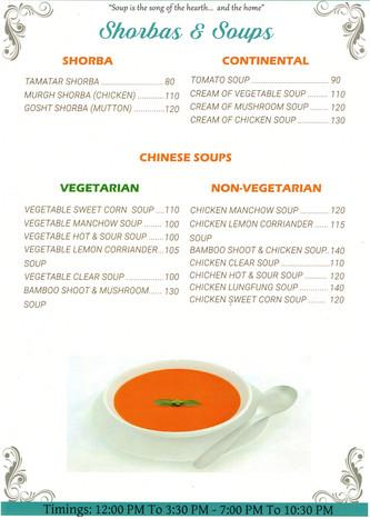 Shorbas & Soups