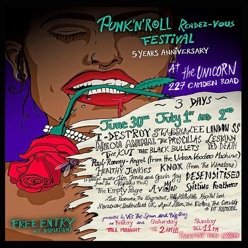 Rock 'n' Roll Rendezvous Festival 2017 CD