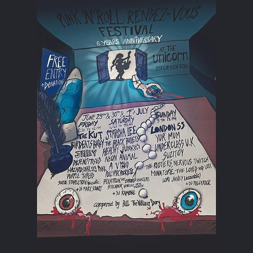Rock 'n' Roll Rendezvous Festival 2018 CD