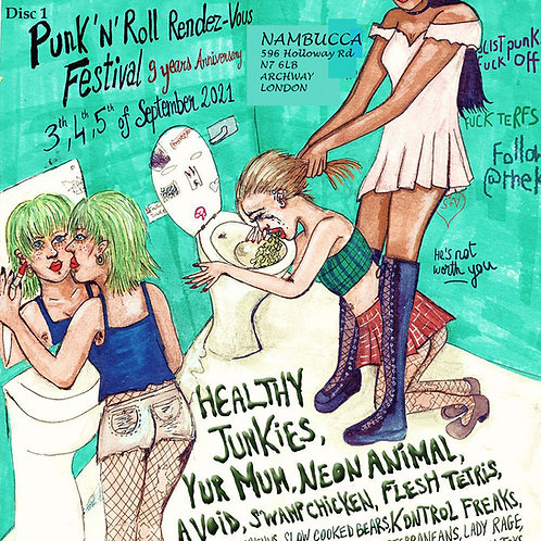 Punk and Roll Rendezvous Festival 2021 double CD