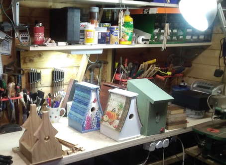 Beautiful Bird Boxes available to members - please see members Area