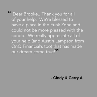 From Cindy & Gerry A.