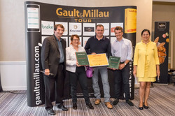 Trophée de l'accueil Grand ouest 2017 Gault et Millau