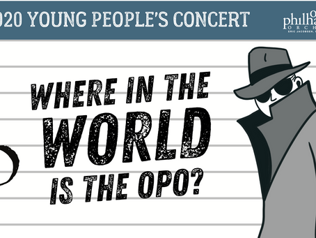 Where in the World is The OPO? (Orlando Philharmonic Orchestra)