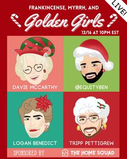 Show Art: The Golden Girls Christmas Special