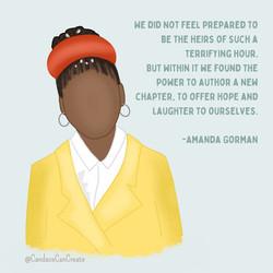 Amanda Gorman Art
