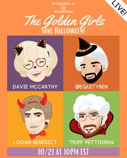 Show Art: The Golden Girls Halloween Special