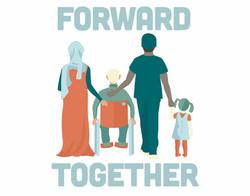 Forward Together T-Shirt Design