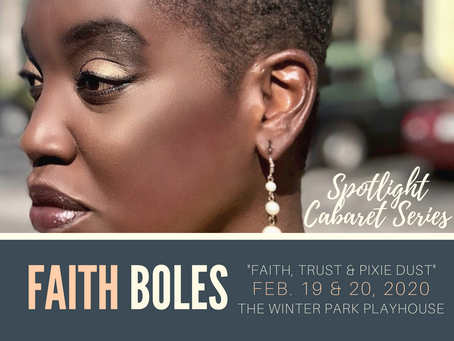 Spotlight Cabaret Series With Faith Boles