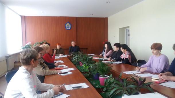 Відбувся пленум районного комітету профспілки працівників освіти