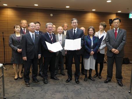 SBSと県コミュニティFM放送協議会との包括連携協定締結