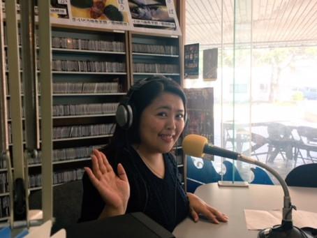 歌手:堀澤麻衣子さんがスタジオに来てくれました!!