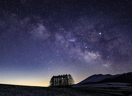 星空写真展をYouTubeで