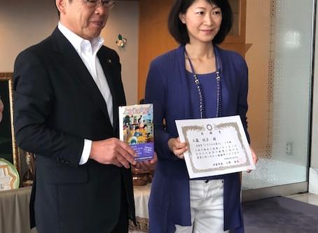 児童文学作家「工藤純子」さん児童書寄贈