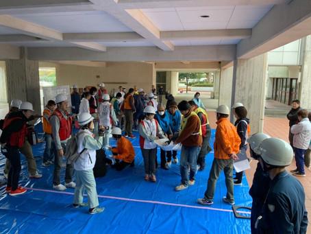 地域防災訓練-医療救護訓練