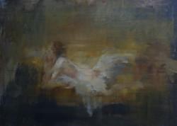 Reclining nude, after Boucher